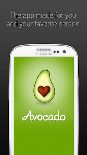Avocado - Chat for Couples Screenshot 1