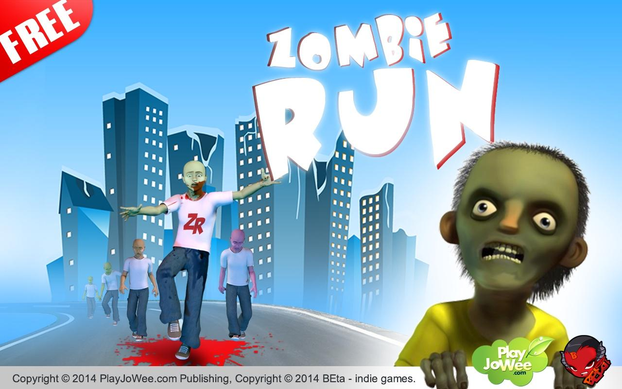 Zombie Runner - Run Zombie Run - screenshot