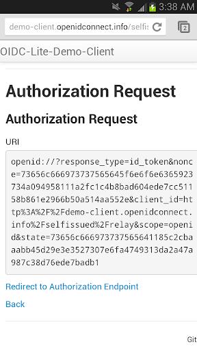 【免費程式庫與試用程式App】Self-Issued OP Demo-APP點子
