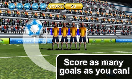 Soccer Free Kicks Deluxe - screenshot thumbnail