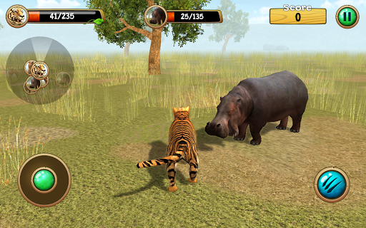 Wild Tiger Simulator 3D Παιχνίδια (apk) δωρεάν download για το Android/PC/Windows screenshot