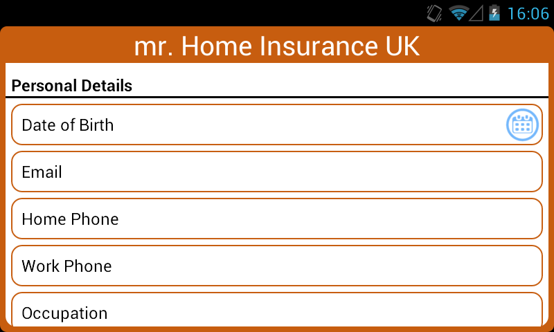 Mr Home Insurance UK- screenshot