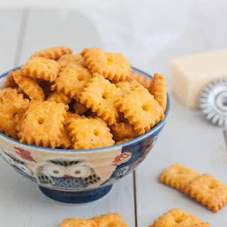 Homemade Cheez-It Crackers.