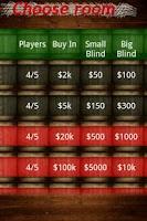 Screenshot of Texas Holdem Poker
