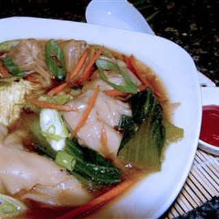 Wonton Soup without Ginger.