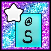 KB SKIN - Pastel Glitter Star4