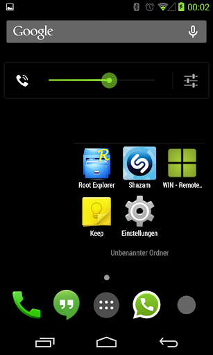 BetterKat CM11 Theme Green X