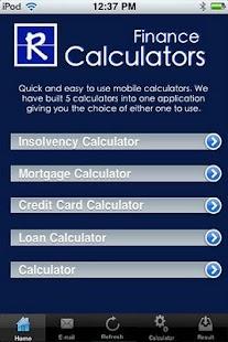 Calculators 5 in 1 App- screenshot thumbnail