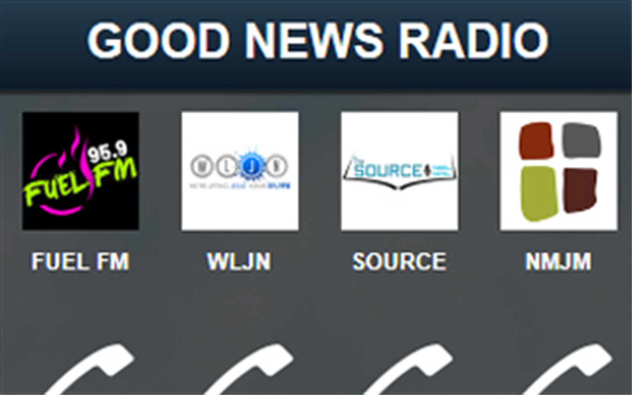 GOOD NEWS RADIO APP- screenshot