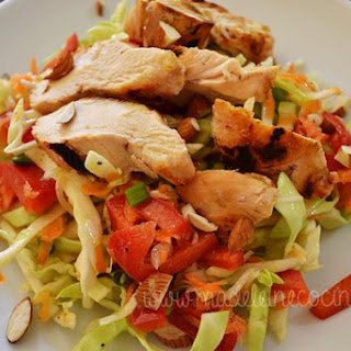 Cabbage Salad with Dijon Dressing.