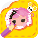 Lalaloopsy: Colour & Sticker icon