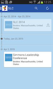 Simmons Leadership Conference - screenshot thumbnail