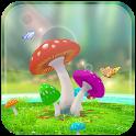 Amazing 3D Mushroom Garden icon
