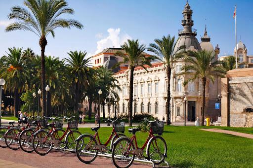 Plaza de Heroes de Santiago de Cuba y Cavite, originally called Plaza de Aduana, is a memorial in Cartagena, Spain, to Spanish soldiers and marines who have died in combat.