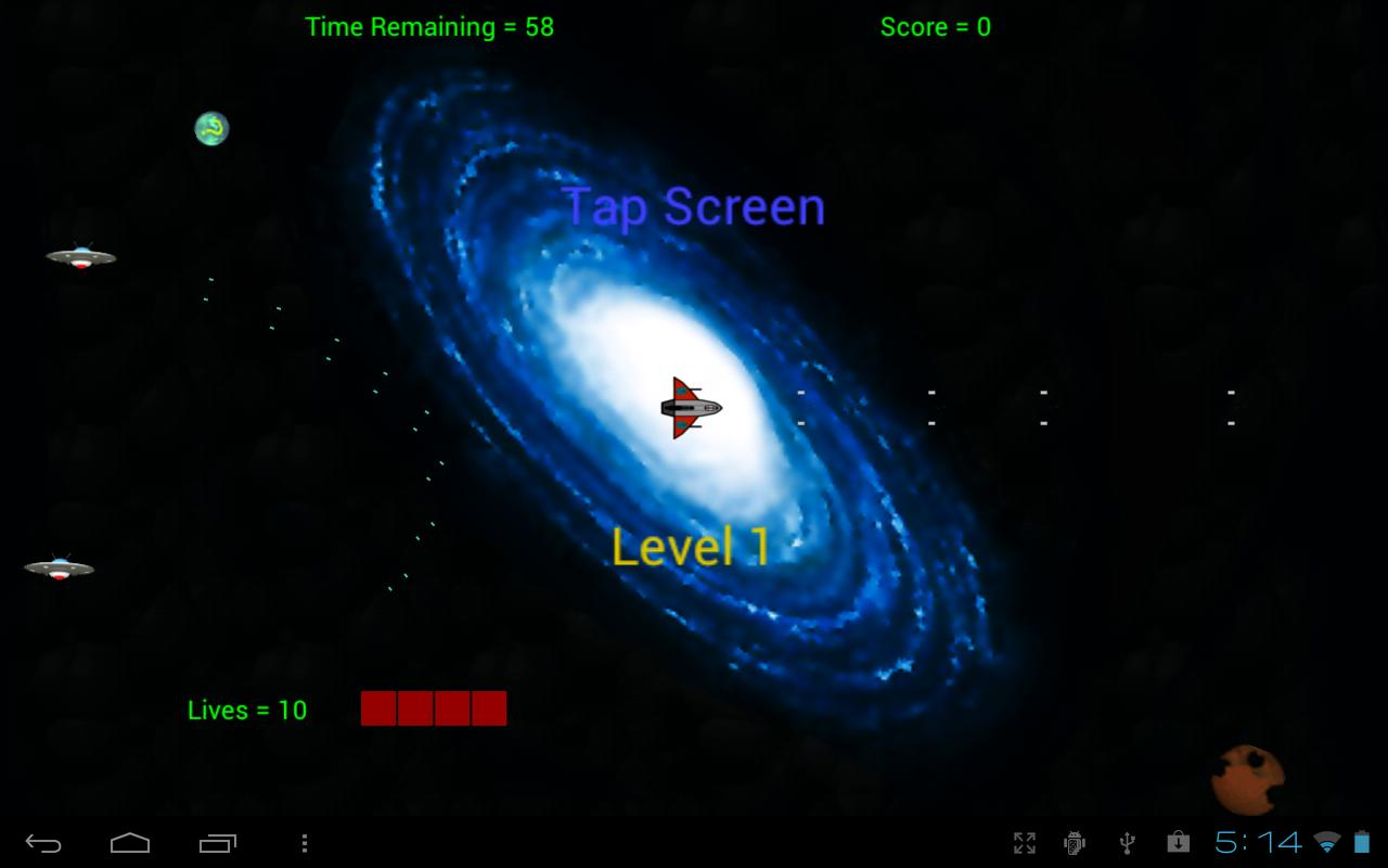 NebulaFrenzyDemo - Space Shoot- screenshot