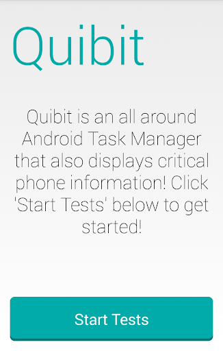 Quibit Task Manager