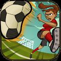 Women Football Penalty icon