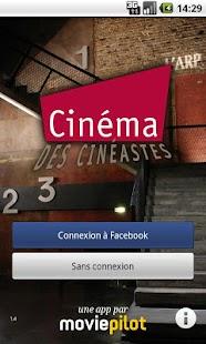 Le Cinéma des cinéastes Paris - screenshot thumbnail