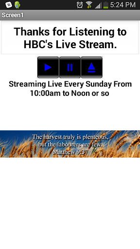 HBC Live Audio Stream