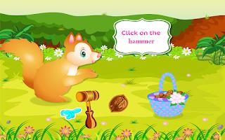 Screenshot of Pet Care Squirrel Animal