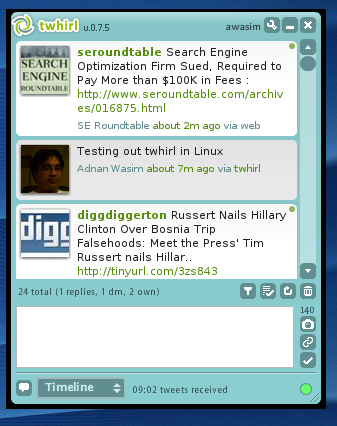 Adobe AIR Linux and twhirl.png