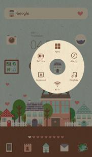 玩免費個人化APP|下載해피 빌리지 도돌런처 테마 app不用錢|硬是要APP