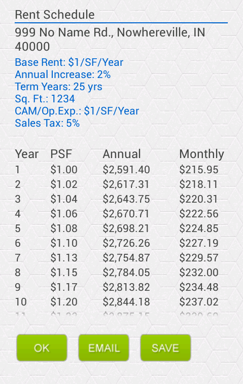 Commercial Rent Calculate Free Android Apps On Google Play