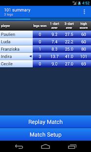 Darts Scoreboard - screenshot thumbnail