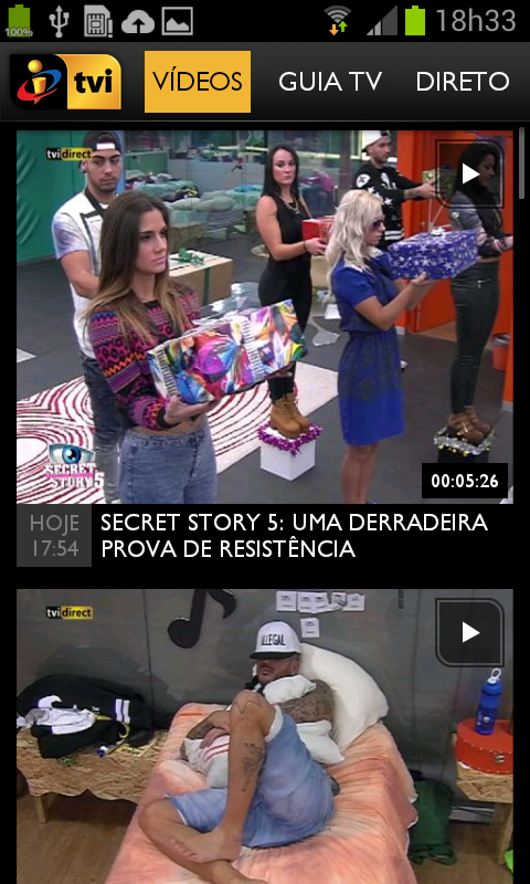 TVI - screenshot