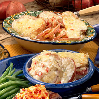 Cheesy Scalloped Potatoes.