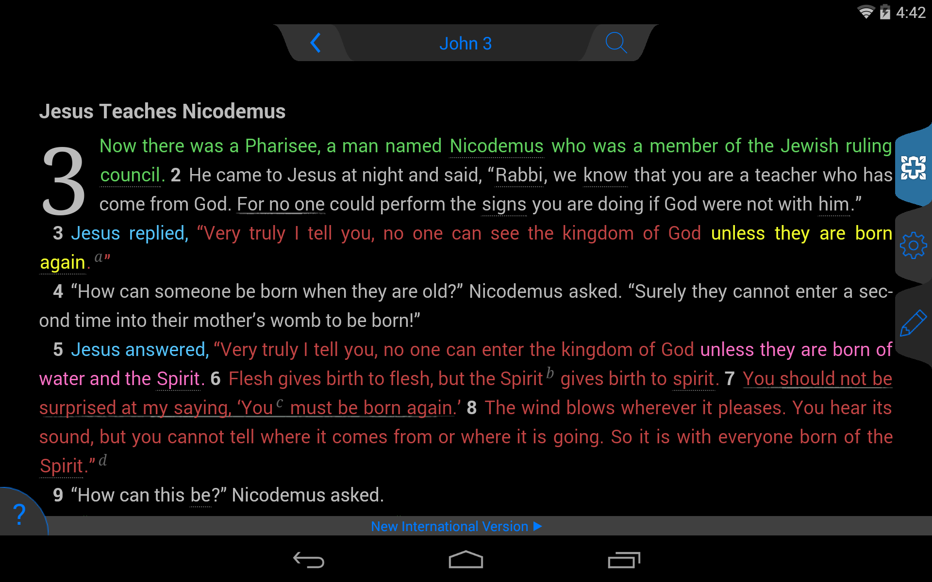 NIV Study Bible screenshot #22