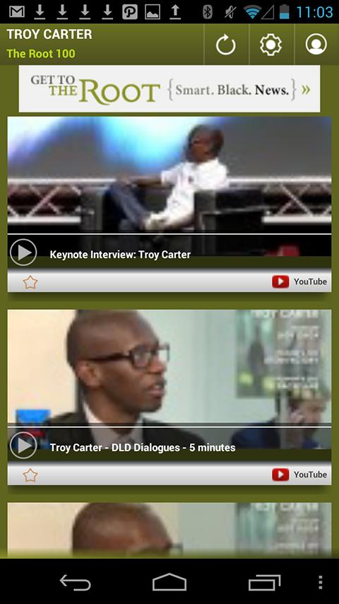 Troy Carter: The Root 100 - screenshot