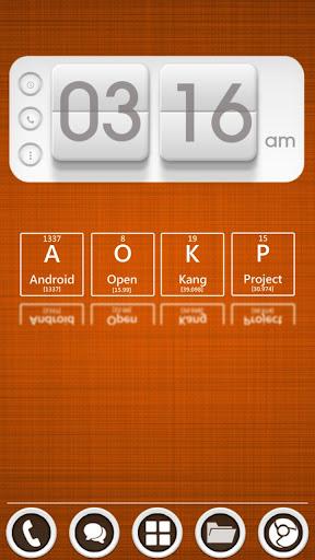 玩個人化App|Flip Clock 3D UCCW Skin免費|APP試玩