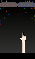 Screenshot of Touch Bubbles! for baby/infant
