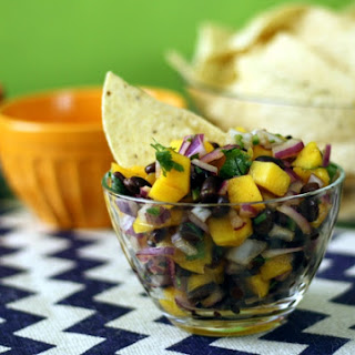 Mango Black Bean Salsa
