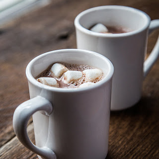 Stovetop Spiked Hot Chocolate