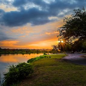 A New Day Begins by Robert Marquis - Landscapes Sunsets & Sunrises ( sunrises, nature, color, colors, texas, sunrise, landscape,  )