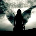 Dark Angel in 3D logo