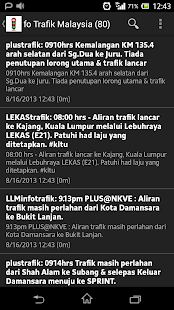 Trafik Malaysia (Traffic) - screenshot thumbnail