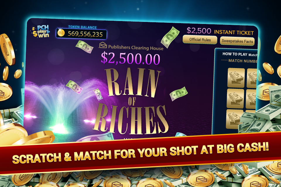 PCH Play & Win - Revenue & Download estimates - Google Play Store - US