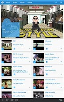 Screenshot of Music Videos Top 100