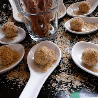 Hazelnut-goat Cheese Balls.