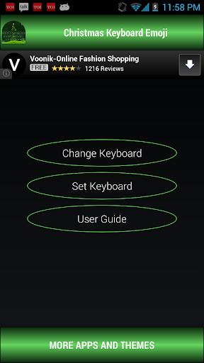 Christmas Keyboard emoji