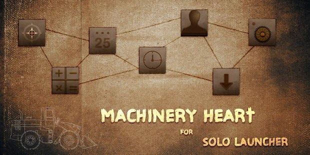 Machinery Heart Theme - screenshot thumbnail