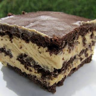 Peanut Butter Eclair Cake.