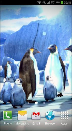 Penguins 3D Pro Live Wallpaper