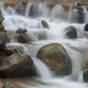 Water and Stone 2 by Husni Mubarok - Nature Up Close Rock & Stone