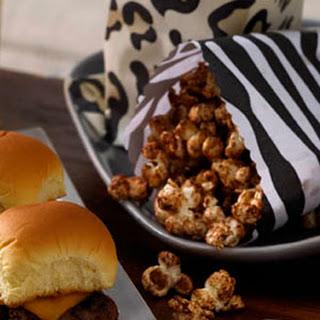 Vanilla and Cinnamon-Sugar Popcorn.