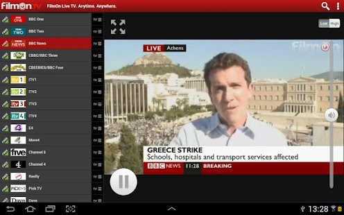FilmOn Live TV FREE Chromecast Screenshot 2