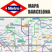 BARCELONA SUBWAY MAP 2014 FREE